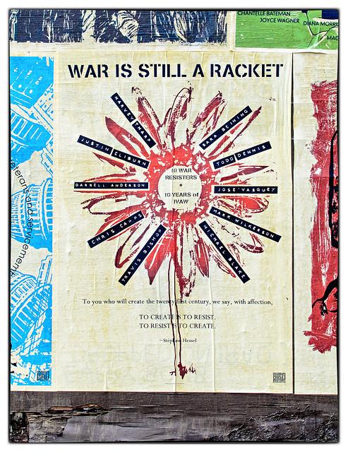 War Is Still a Racket