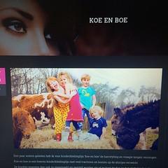 Lees mijn nieuwe blog over de shoot met kinderkledinglijn koe en boe #makeup #hairstyling #blog #kinderen #kapsel #kinderkleding #koeenboe #vlechten