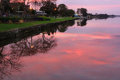 sunset nsw queenelizabethpark taree midnorthcoast manningriver manningvalley