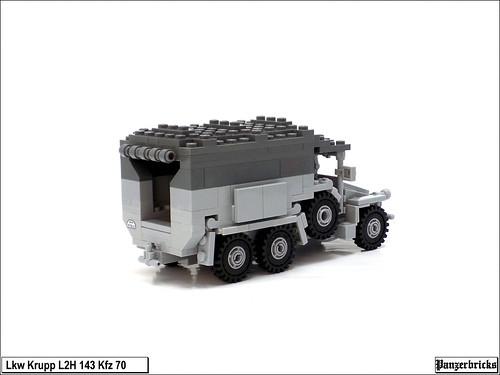 Krupp L2H 143 Kfz 70 de Panzerbricks