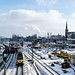 Snow  in Berlin by Merlindino