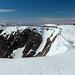 Snowy summit of Braeriach 3rd highest mountain in Britian by Pommyjon