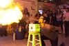 Guy breathing fire. by wwward0