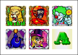free Captain Cannon's Circus of Cash slot game symbols