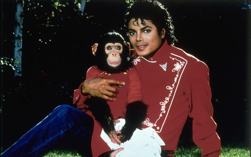 Фото | Майкл Джексон с обезьяной