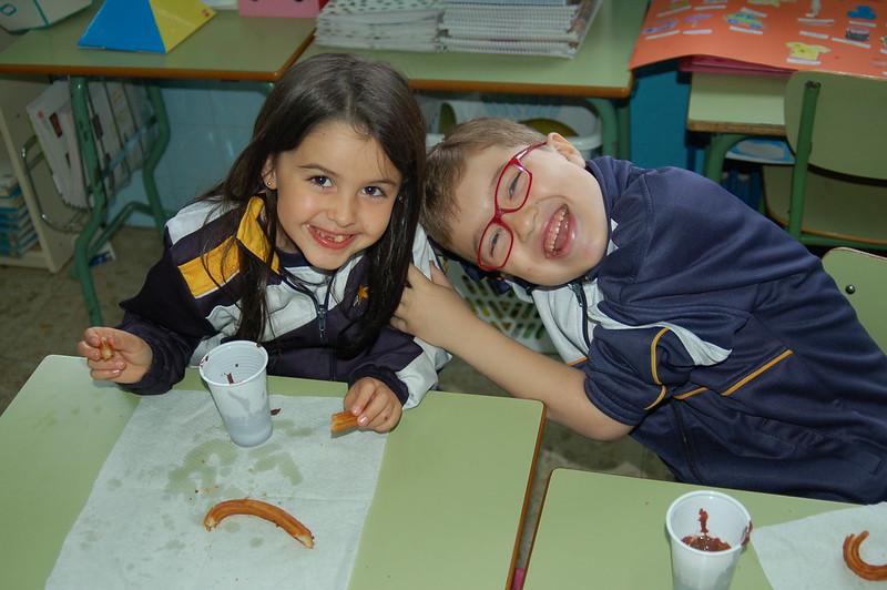 Infantil y Primaria. Chocolatada.