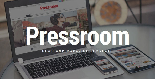 Pressroom v3.4 – Responsive News and Magazine Template