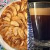 Torta di mele della mamma e caffè #applepie #mumsapplepie #applecake #cake #coffee