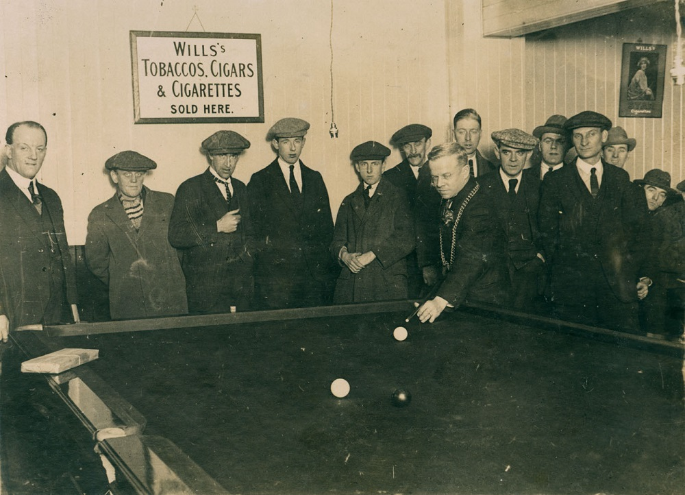 Opening of Benwell Billiard Saloon