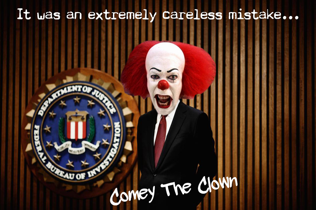 COMEY THE CLOWN