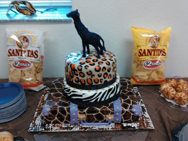Safari Escape Cake by Susan Michelle