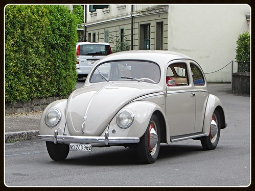 VW Beetle Split Windows 1952