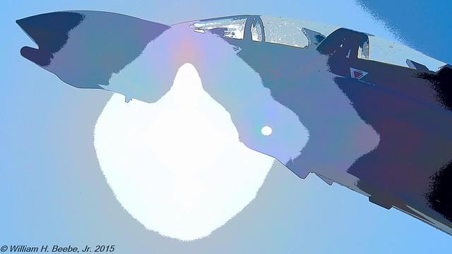 cockpit in the sun