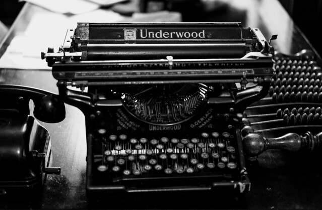 Typewriter (pre-email relict)