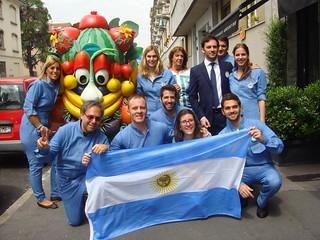 Participación Argentina en la Expo Milán 2015