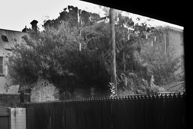 Photo circle: rainstorm