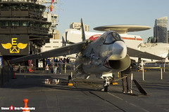 147030 NE-461 - US Navy - Vought F-8K Crusader - USS Midway Museum San Diego, California - 141223 - Steven Gray - IMG_6737