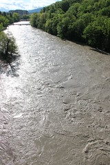 Historic flooding of the Arve