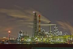port, transport, industry, cityscape, skyline, oil field,