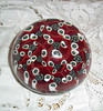 Vintage Murano Mille Fiori Art Glass Paperweight