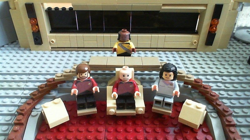 Moc Bridge Of Tng Enterprise Lego Sci Fi Eurobricks Forums