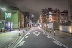 Tokyo Back Alley at Night