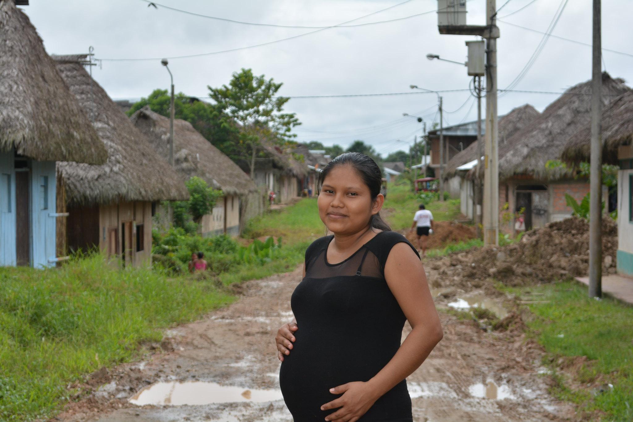 Joven de 23 años en San Lorenzo espera a su segundo hijo