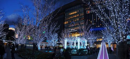 japan night nightview magichour fukuokacity