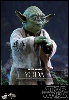 Hot Toys - MMS369 - 《星際大戰:帝國大反擊》 - 1/6比例 尤達大師 The Empire Strikes Back Yoda