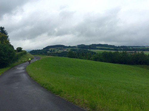 A grey afternoon's ride through the uber-green Austrian countryside