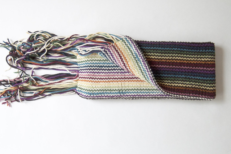 Double Rainbow Scarf 1