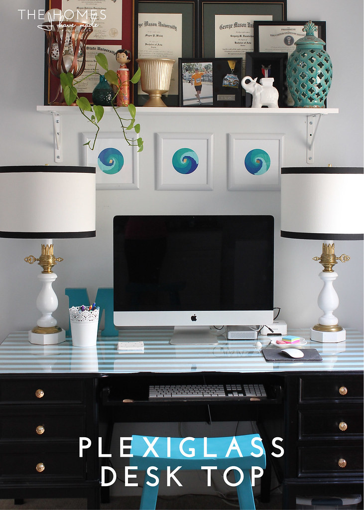Hits and Misses: Home Decor Edition - Plexiglass Desk Top