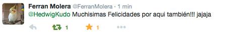 Felicitación cumple Ferran