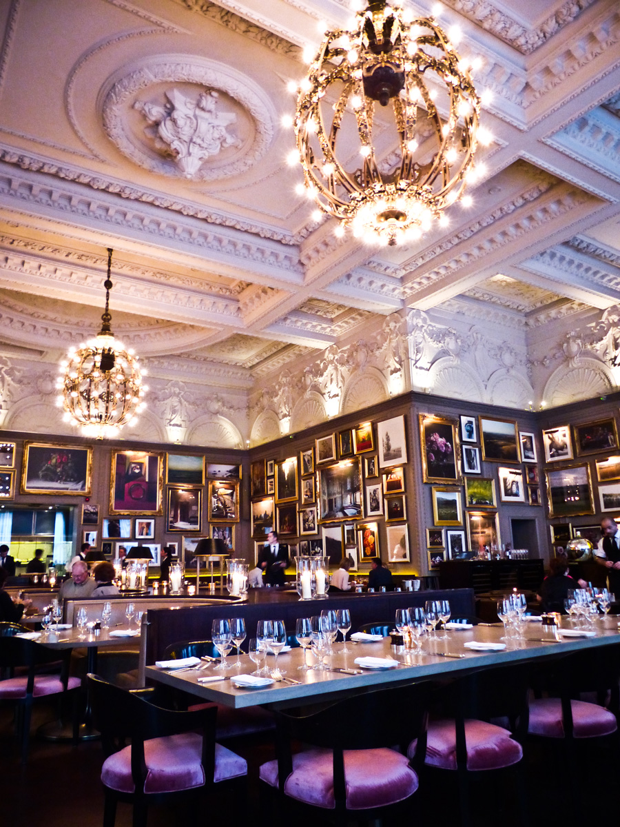 Interior-dining-space,-Berners-Tavern,-London