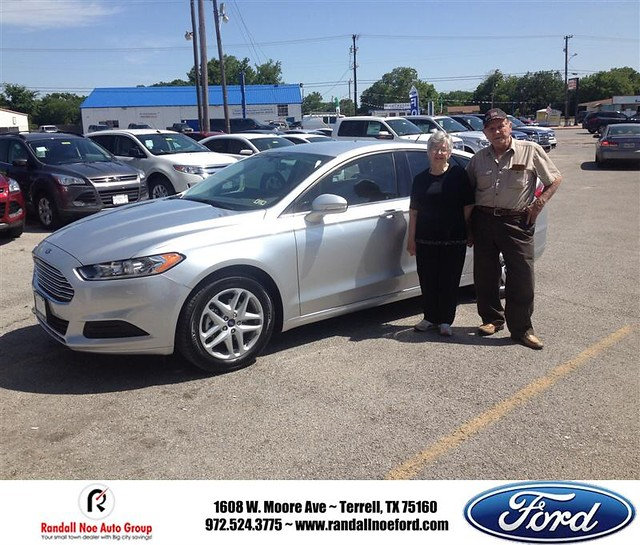 Ford Dealership Greenville Tx >> #HappyAnniversary to Js Risinger on your 2014 #Ford #Fusion from Joseph Ramos at Randall Noe ...