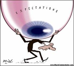 Funny Jokes on Expectations Cartoon
