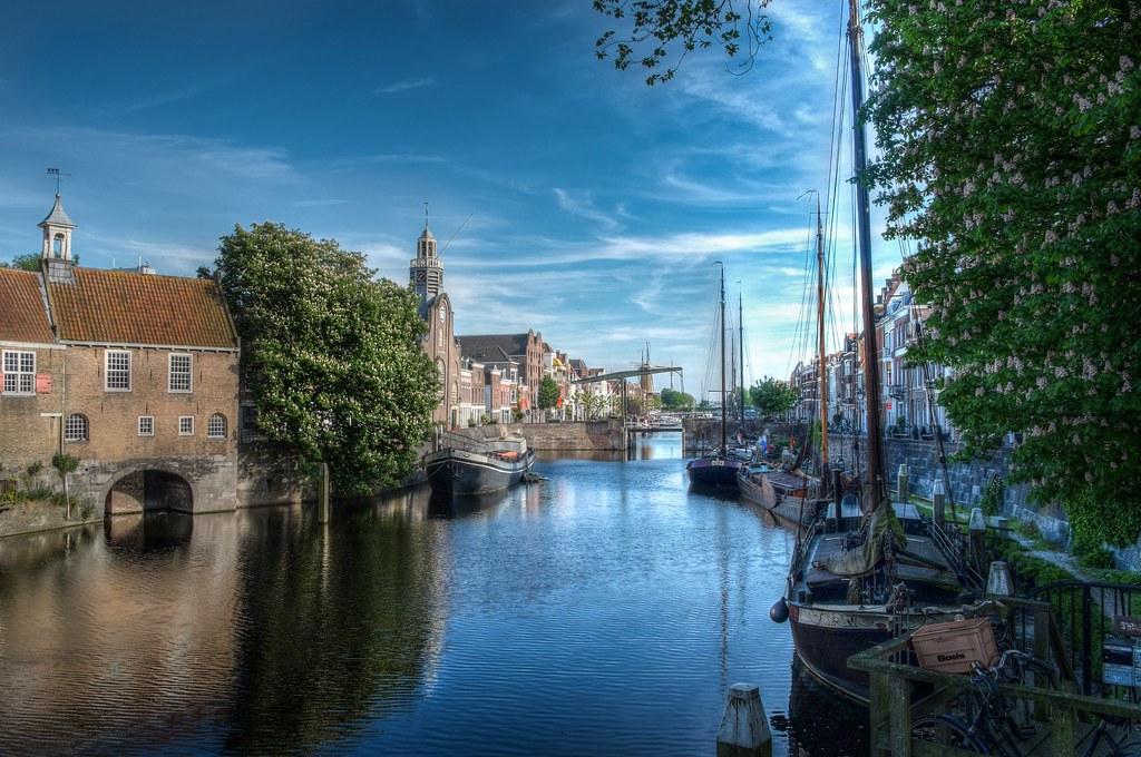 Ndr of Rotterdam canal