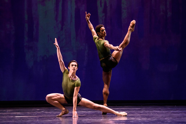 Marcelino Sambé and Luca Acri in Within the Golden Hour  © ROH 2016. Photo by Bill Cooper