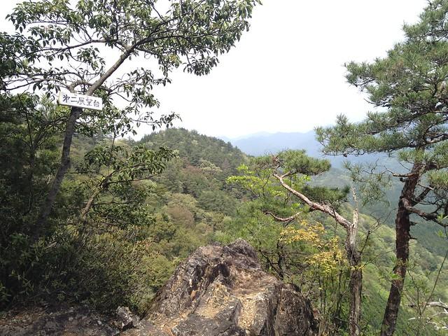 納古山 中級コース 第二展望台