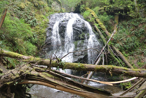 April Bicycle Camping Day 5 - Cascade Falls in Moran State Park
