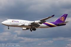 HS-TGH Thai Airways Cargo Boeing 747-4D7(BCF)