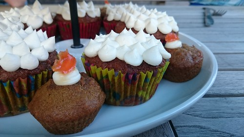Maple-Sweetened Carrot Cupcakes