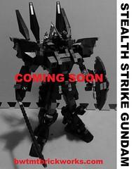 Stealth Strike Gundam - coming soon by BWTMT Brickworks
