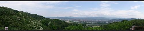 鶯歌石上方觀景台全景圖