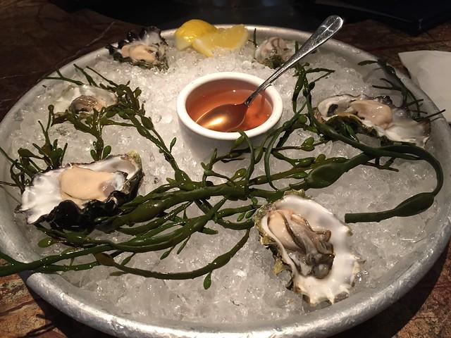 Fanny Bay oysters - Farallon