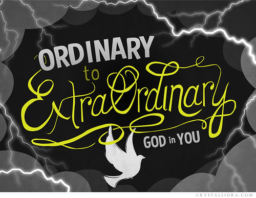Ordinary to Extraordinary | series logo