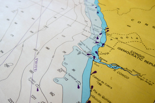 Nautical chart - Congo river