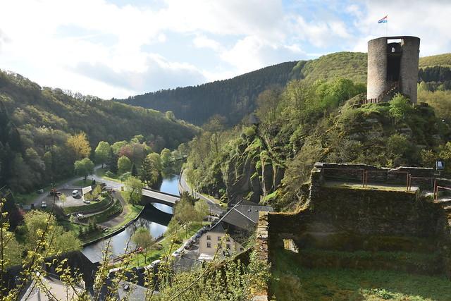 Esch-sur-Sûre.Vue depuis le Château.1