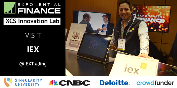 Innovation Lab Companies..Exponential Finance 2015 hosted by Singularity University