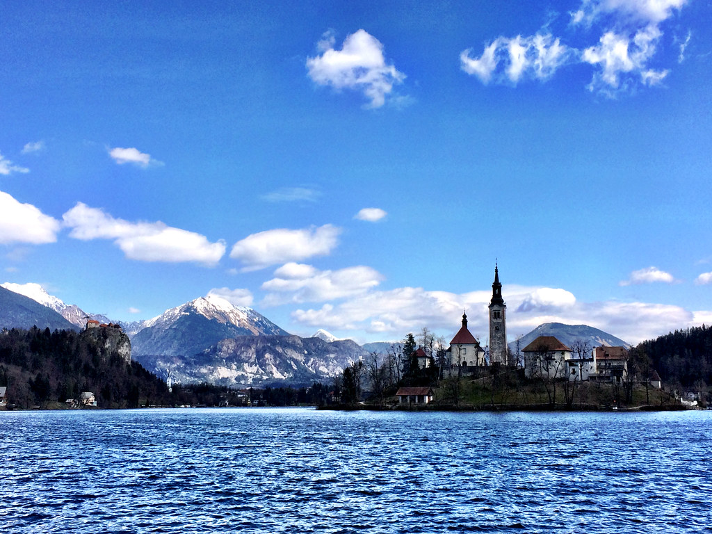 3 best places to visit in Slovenia: Lake Bled